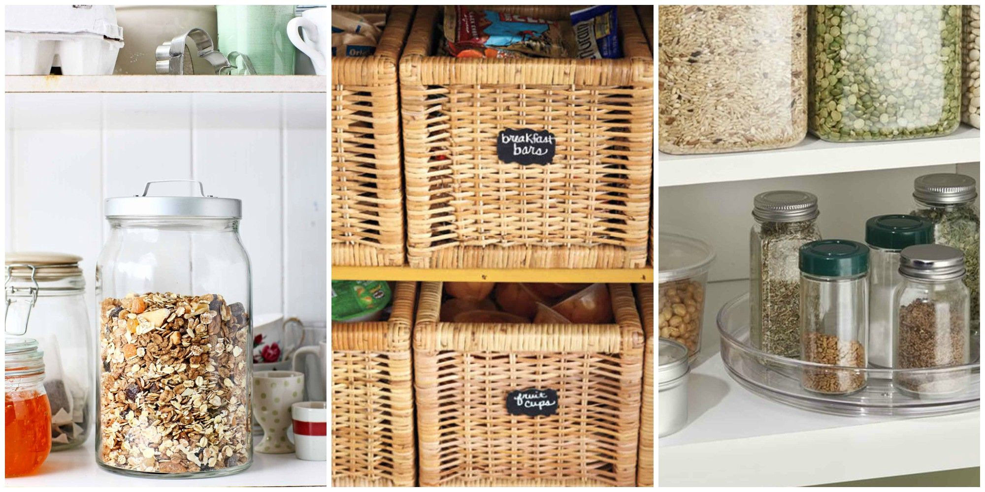 Pantry Organization 15 Pantry Organization Ideas How To Organize A Kitchen Pantry