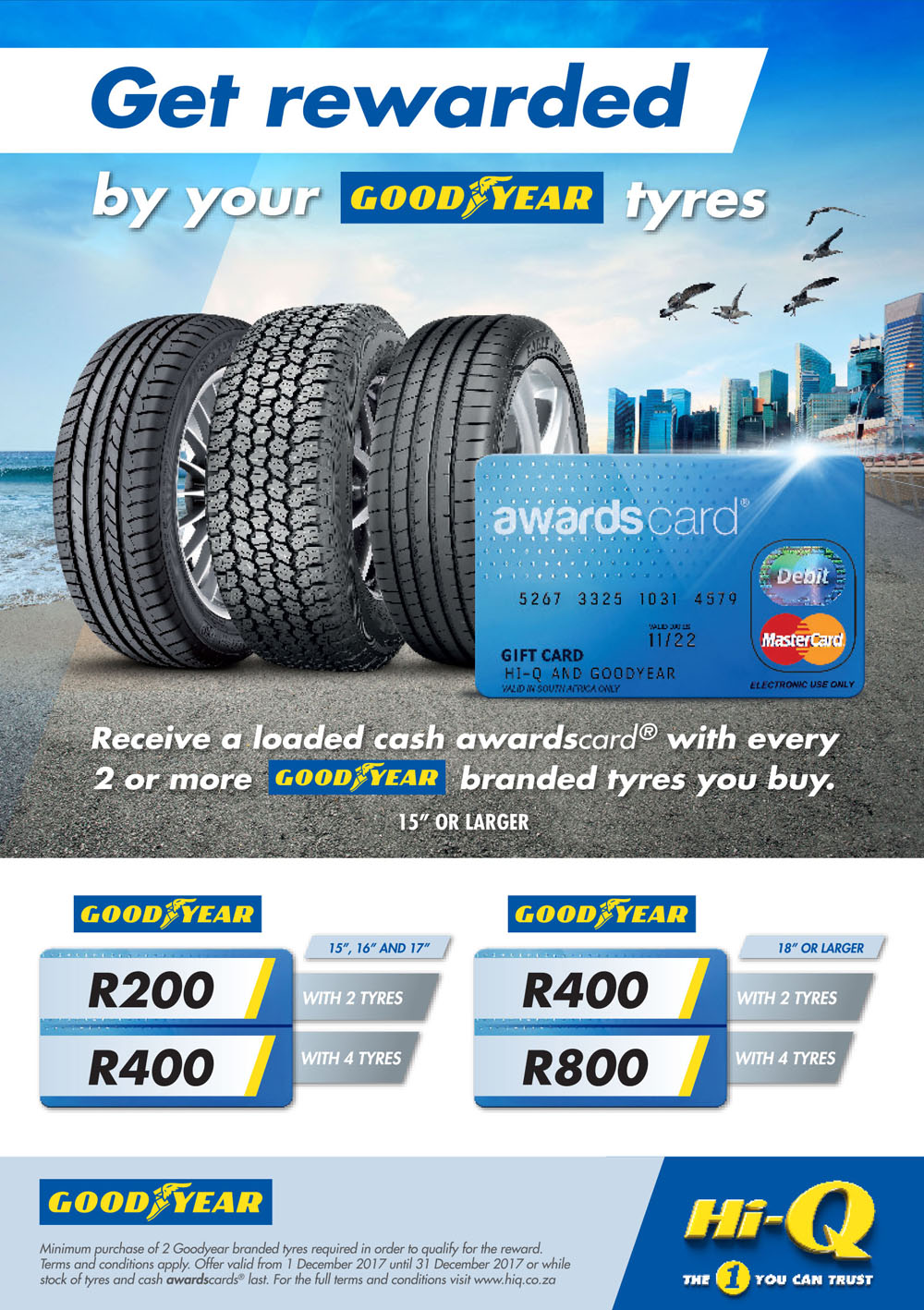 Goodyear Tyres Here S What Your Goodyear Tyres Can Get You At Hi Q Hi Q