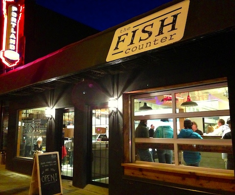 Fish Counter exterior, Vancouver Main St