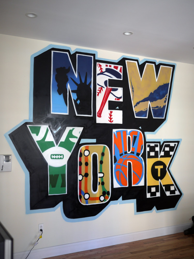 Ny Rangers 3d Wallpaper Graffiti Artists Of New York Graffiti Press