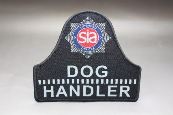 Sia Licensed Officer Dog Handler Security Badge Hw232
