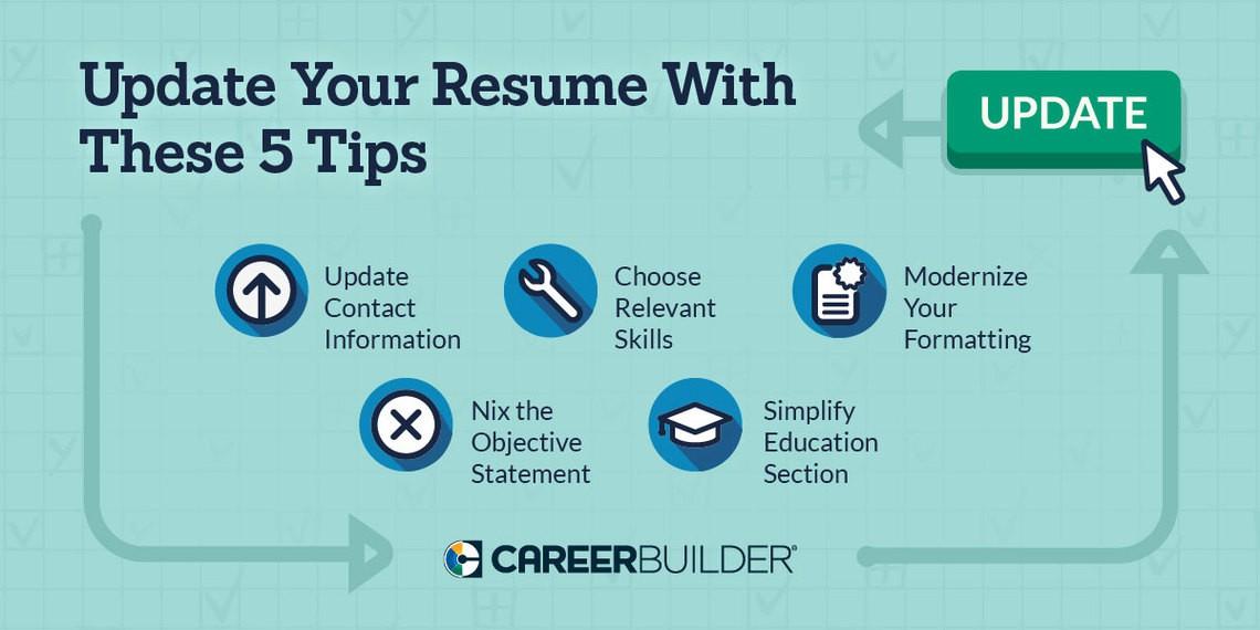 update resume on careerbuilder