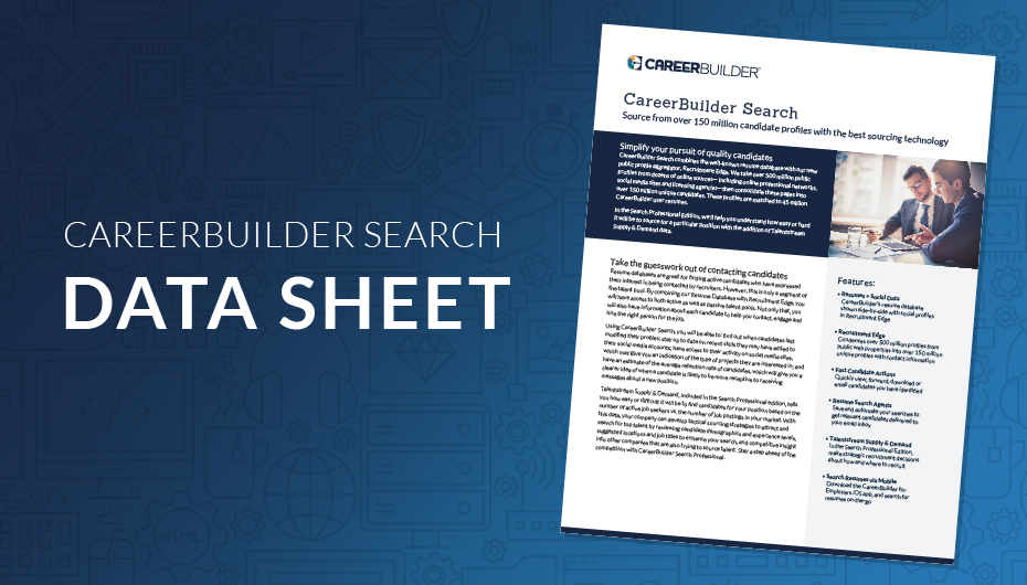 Search Resumes in the Resume Database CareerBuilder for Employers