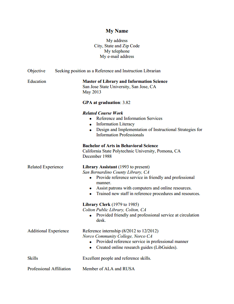 resumes for librarians all file resume sample resumes for librarians librarian resume examples for a winning resume to submit your resume or cv