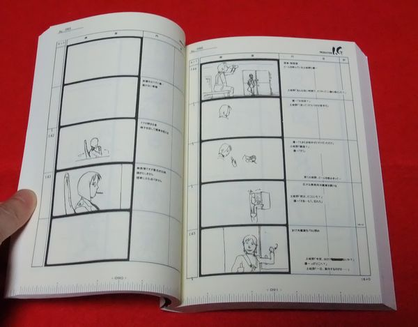 Japanese anime manga STORYBOARD BOOK - Mamoru Oshii - The Sky Crawlers