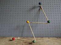 Coat rack - H is for Home
