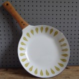 green Cathrineholm skillet pan
