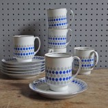 Chodziez cups and saucers