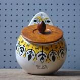 Vintage Jie Gantofta tea jar