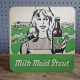 Milk Maid Stout coaster