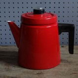 Red Finel coffee percolator