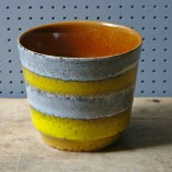 Vintage Topfpots pottery planter | H is for Home