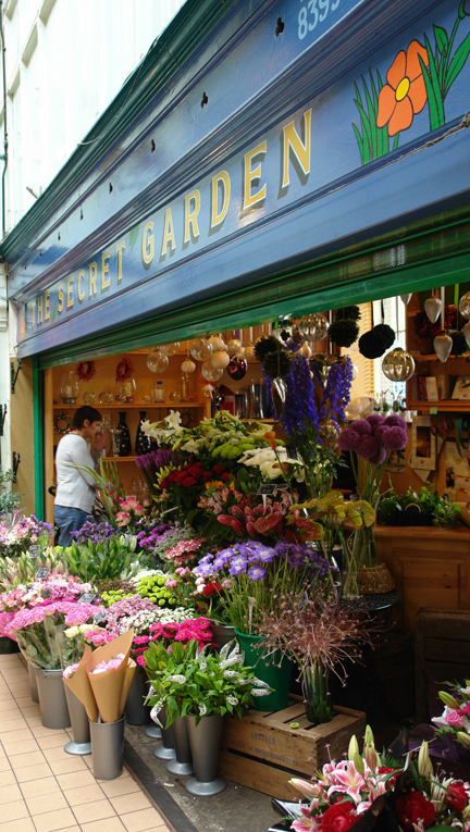 Florist on Todmorden Indoor Market