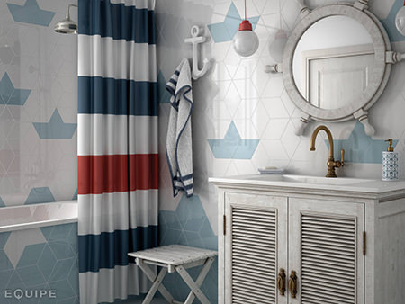 nautical inspired bathroom style