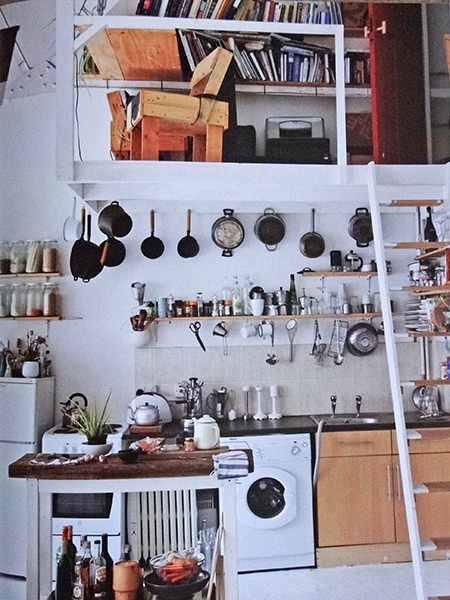 kitchen mezzanine