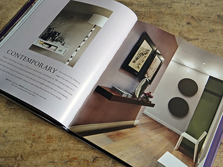 Contemporary chapter from the Farrow & Ball 'Decorating with Colour' book by Ros Byam Shaw with photography by Jan Baldwin