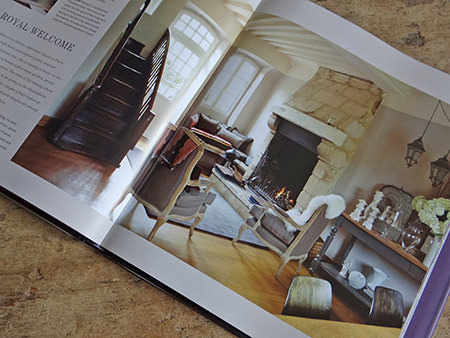 Royal Welcome chapter from the Farrow & Ball 'Decorating with Colour' book by Ros Byam Shaw with photography by Jan Baldwin