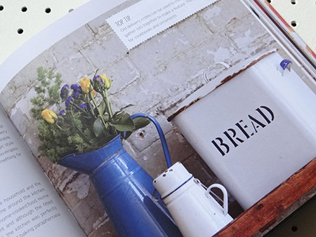 vintage enamelware | H is for Home