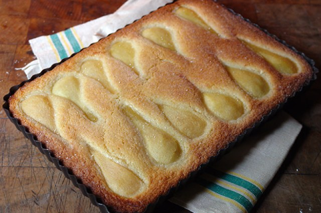 Home made French pear tart | H is for Home