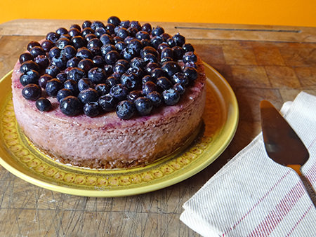 Home-made lemon & blueberry cheesecake | H is for Home