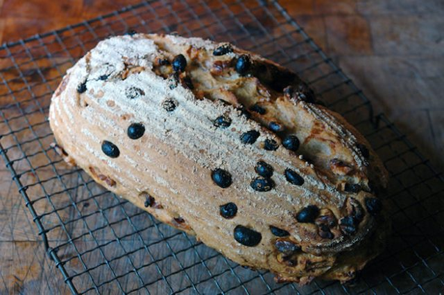 Home-made walnut and sultana loaf | H is for Home