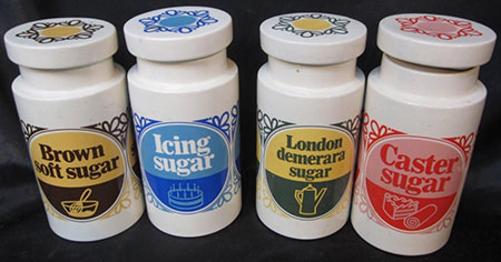complete set of large Lord Nelson sugar jars for sale on eBay for Charity by Dove House Hospice