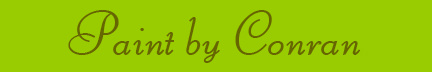 'Paint by Conran' blog post banner