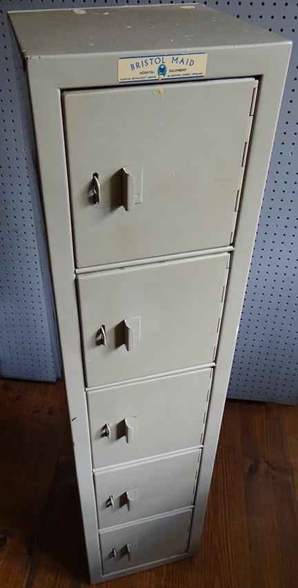 vintage Bristol Maid Hospital Equipment locker
