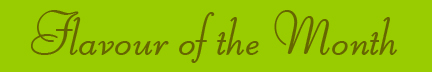 'Flavour of the Month' blog post banner