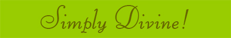 'Simply Divine!' blog post banner
