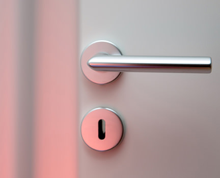 stainless steel door handle from Handle Kingdom
