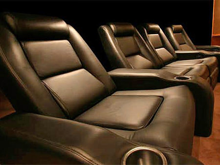 Elite home cinema seats from Reclinersdirect