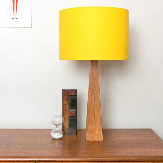 Yellow lamp available at Hunkydory Home