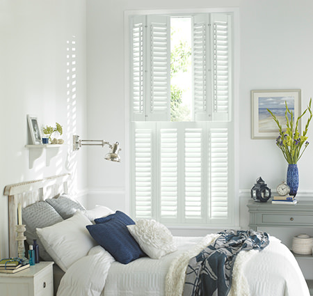 Thomas Sanderson bedroom shutters