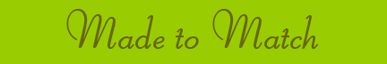 """""""Made to Match"""" blog post banner"""