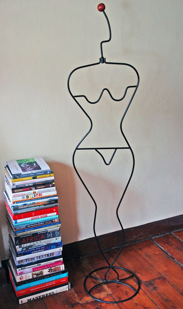 Vintage metal mannequin | H is for Home