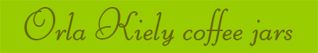 'Orla Kiely coffee jars' blog post banner