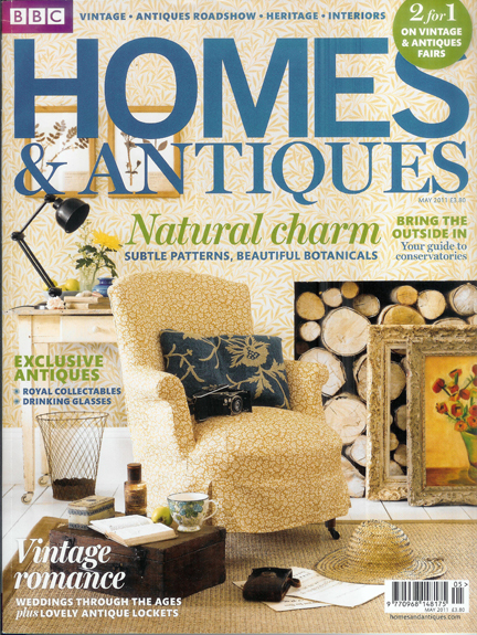 BBC Homes &amp; Antiques magazine cover, May 2011