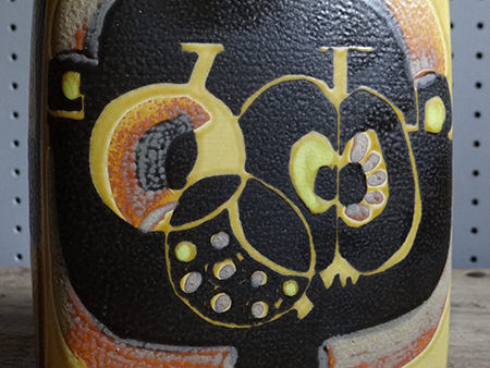 detail from a Royal Copenhagen vase designed by Johanne Gerber