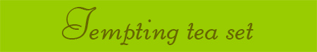 'Tempting tea set' blog post banner