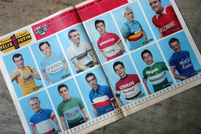 Portraits of twelve 1950s Tour de France cyclists | H is for Home