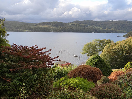 View of Lake Windermere from Broad Leys, home to the Windermere Motor Boat Racing Club