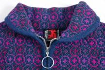 Welsh wool zipped jacket