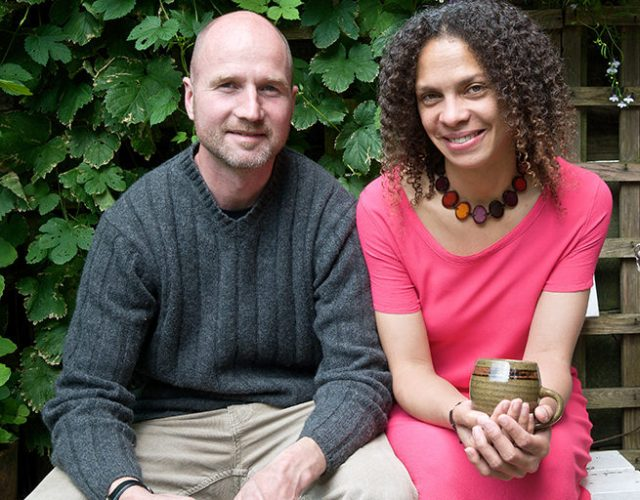 Adelle Robinson & Justin Keefe, owners of H is for Home