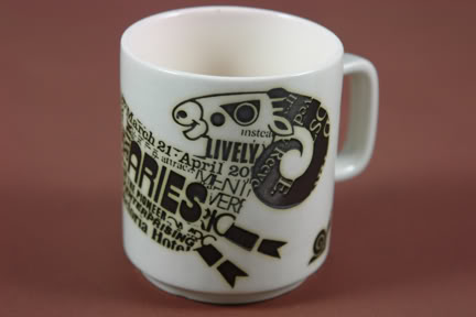 Vintage Hornsea 'Aries' mug designed by John Clappison | H is for Home