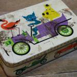 Charity Vintage: Carr biscuit tin