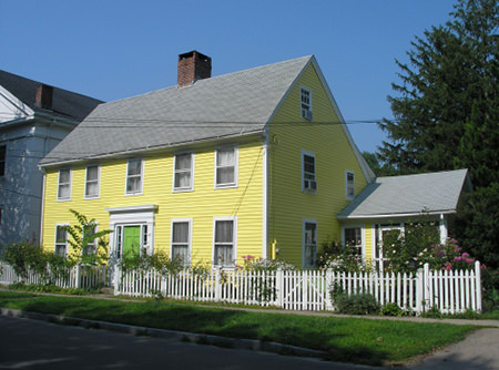 Traditional Connecticut salt house