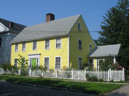Traditional Connecticut salt house