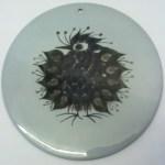 Charity Vintage: Fajance bird plaque