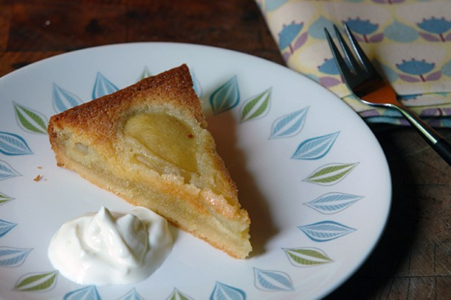 Slice of home made French pear tart | H is for Home